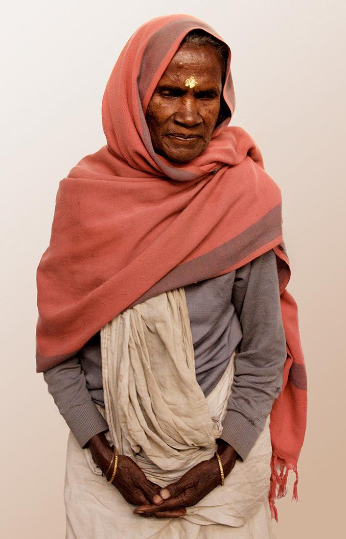 Widow of Vrindavin, India - Barbara Raisbeck Photography
