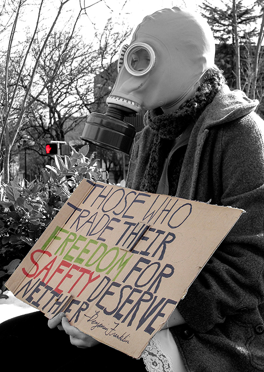 Peace Protest - Eugene, OR - Barbara Raisbeck Photography